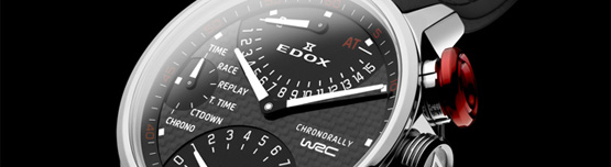 Montre EDOX Chronorally